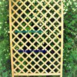 шпалера деревянная, шпалера для вьющихся растений