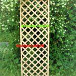 шпалера деревянная, решетка для цветов