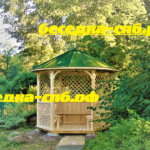 купить деревянную беседку, садовые беседки спб