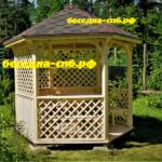 изготовление деревянных беседок, летние беседки спб