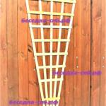решетка для сада, садовая решетка деревянная
